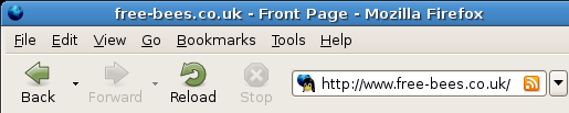 Adding feeds using the URL bar of Firefox